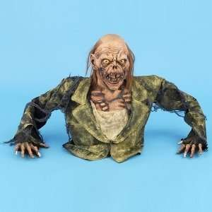 Out Of Ground Zombie Torso Halloween Prop Toys & Games