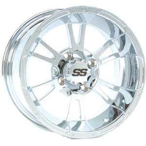 SS112 Wheel   14x6   4+2 Offset   4/110   Chrome, Wheel Rim Size 14x6