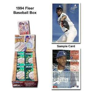 Fleer Mlb 1994 Unopened Trading Card Box Sports