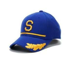 Seattle Pilots 1969 Cooperstown Fitted Cap   Royal 7 5/8