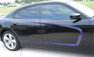 2011 Dodge Charger C Stripe decal Accent Stripes 3M
