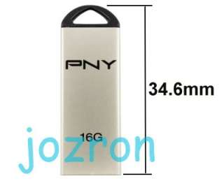 PNY M1 Attache 16GB 16G USB Flash Drive Stick Champagne