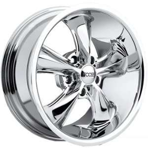 Foose Legend 18x8 Chrome Wheel / Rim 5x4.75 with a 1mm Offset and a 72