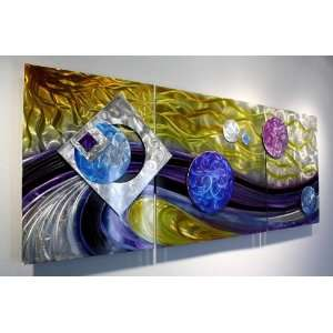 Metal Modern Abstract Wall Art Sculpture Decor, Design by Wilmos