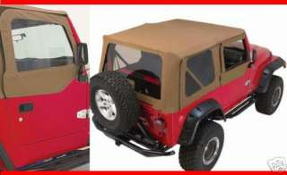 NEW JEEP WRANGLER TJ REPLACEMENT SOFT TOP spice 88 95