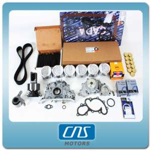 89 92 TOYOTA PICKUP 3.0L MASTER ENGINE REBUILD KIT 3VZE