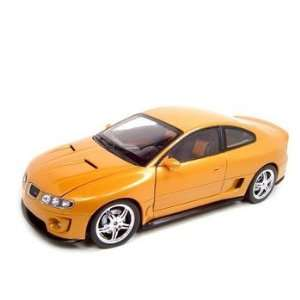 2005 PONTIAC GTO RAM AIR 6 ORANGE 118 DIECAST MODEL Toys