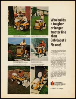 1960s vintage ad for International Harvester Lawn Tractor  152