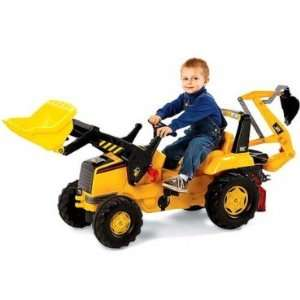 Kettler CAT Front Loader w/ Backhoe Toys & Games