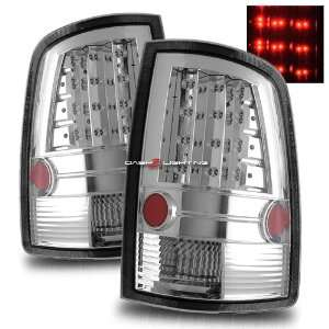 09 10 Dodge Ram LED Tail Lights   Chrome Automotive
