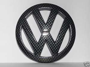 VW Rear trunk badge emblem black Golf Jetta Bora Passat