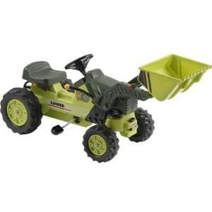 Kalee Pedal Tractor with Loader Green Toys & Games