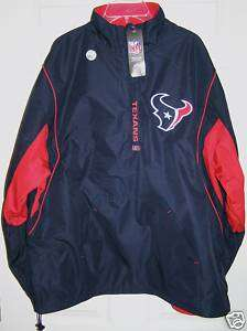 NFL Houston Texans Reversible Fleece Team Jacket Medium
