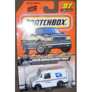 AGAIN 97 OF 100 POSTAL SERVICE DELIVERY TRUCK MAIL TRUCK Toys & Games