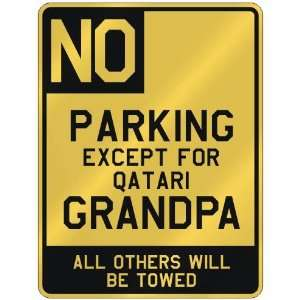 FOR QATARI GRANDPA  PARKING SIGN COUNTRY QATAR