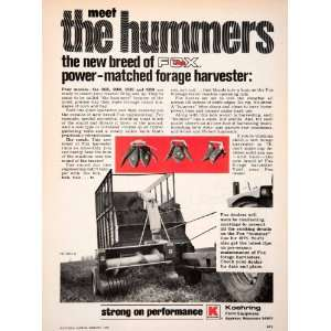 1976 Ad Koehring Farm Equipment Appleton Wisconsin Tractor