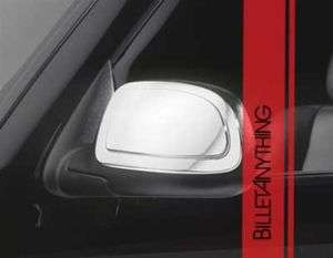 CHEVY AVALANCHE 2000 06 HALF CHROME MIRROR COVERS