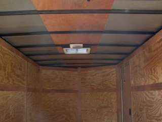 NEW 6x12 3500# TANDEM BIG BUCK TRAILER ENCLOSED CARGO OR MOTORCYCLE V
