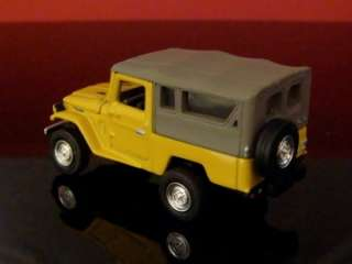 80 Toyota FJ40 Land Cruiser 4X4 1/64 Scale Limited Edit