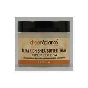 Shea Radiance Ultra Rich Shea Butter Cream Citrus Blossom