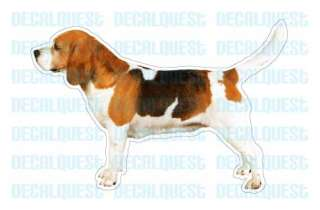 BEAGLE Dog Decal sticker dogs car got window decals