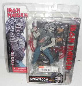 McFarlane Iron Maiden Eddie Super Stage Figure