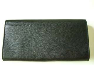 Kate Spade Cyndy Bexley Black Leather Wallet $195