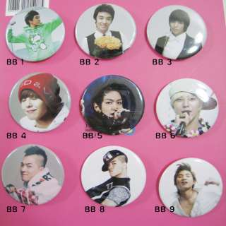 BIGBANG big bang Button Badges   TOP G dragon Taeyang
