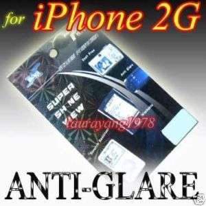 ANTI GLARE LCD SCREEN GUARD FILM for IPHONE 2G 8GB 16GB