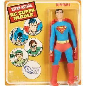 Retro Action Figure DC Super Heroes SUPERMAN Mego 70s