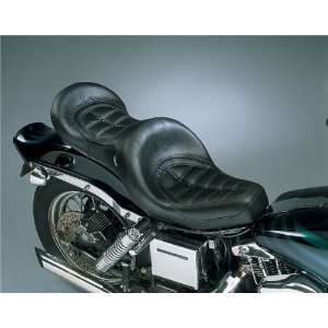 Seat   Stitched Style For Harley Davidson Super Glide 1971 1984 / Low