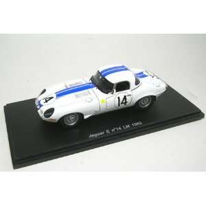 Jaguar E Type No. 14   Le Mans 1963   1/43rd Scale Spark