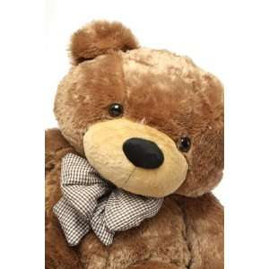 Sunny Cuddles   47   Super Cute & Huggable, Giant Teddy Mocha Colored