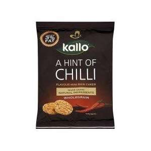 Kallo Chilli Mini Rice Cakes 25g   Pack Grocery & Gourmet Food