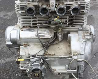 1980 Suzuki GS1000 GT ENGINE/MOTOR/GEARS/TRANSMISSION/CYLINDER HEADS