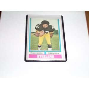 Franco Harris 1974 topps football trading card #220