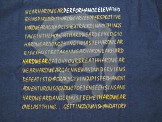 New Mountain Hardwear Blue Cotton T Shirt L