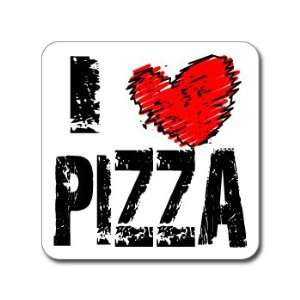 I Love Heart PIZZA   Window Bumper Laptop Sticker
