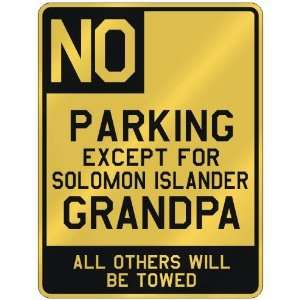 SOLOMON ISLANDER GRANDPA  PARKING SIGN COUNTRY SOLOMON ISLANDS Home