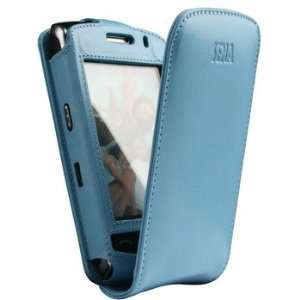 Sena 212708 Baby Blue Leather MagnetFlipper Case for