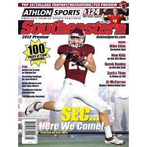 Athlon Sports 2012 College Football Southeastern (SEC) Preview