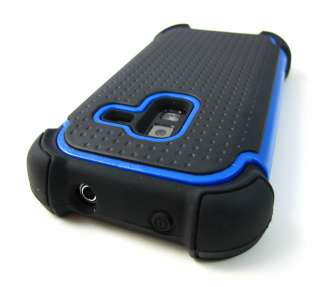 TRIM IMPACT TRIPLE HARD COMBO CASE COVER SAMSUNG CONQUER 4G D600 PHONE