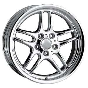 18 Inch 18x8 Detroit wheels STYLE DMP Chrome wheels rims Automotive