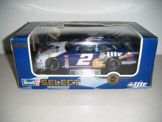 Revell Miller Lite #2 RUSTY WALLACE ELVIS TRIBUTE CAR 124 Scale
