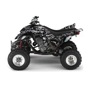 Yamaha Raptor 660 ATV Quad Graphic Kit   Silver Haze  Automotive