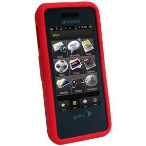 New High Quality Amzer Silicone Skin Jelly Case Maroon Red