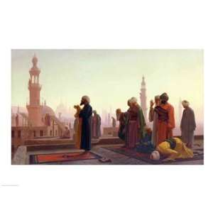 The Prayer, 1865   Poster by Jean leon Gerome (24x18