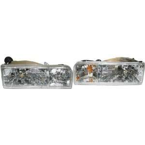 Lincoln Town Car Passenger/Driver Lamp Assembly Headlight 2 pc Pair