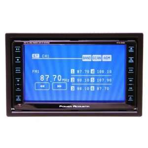 Ptid 6500 6.5 Feather touch Screen Double Din Dual Zone Monitor