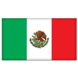 MEXICO Mexican Flag car bumper sticker decal 6 x 3